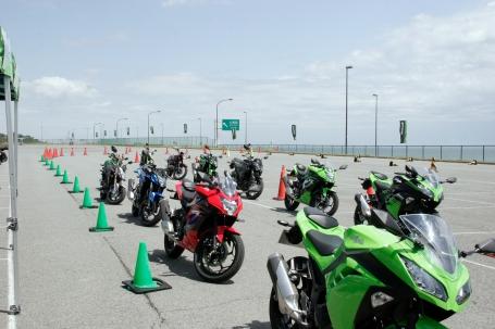 [2016]カワサキUNDER400試乗会 in 大磯ロングビーチ