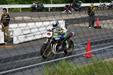 CRAZY COOL RALLY 01 in 仙台ハイランドドラッグレースウェイ