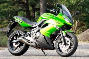 SP忠男 Ninja 400R用 POWER-BOXマフラー