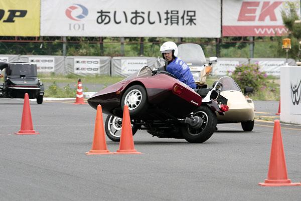 2010年5月22日〜23日 第一回 那須モータースポーツランド サイドカーライディングスクール