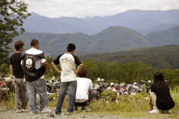 2011年7月24日 カワサキコーヒーブレイクミーティング in 田沢湖