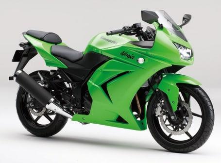 2012年モデル Ninja250R ライムグリーン