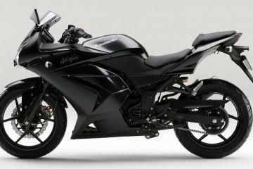 2012年モデル Ninja250R ブラック