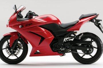 2012年モデル Ninja250R レッド