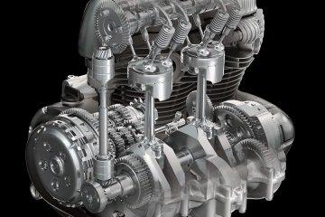 W800/エンジン
