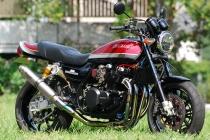 バグース!モーターサイクル ZEPHYR750用 フルチタンマフラー