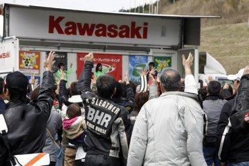 2012年4月15日 カワサキコーヒーブレイクミーティング in オートポリス
