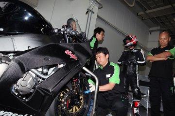 2010年7月7〜8日 ZX-10R鈴鹿サーキットテスト