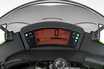 2011年モデル Ninja400R メーター