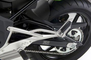 2011年モデル Ninja400R スイングアーム