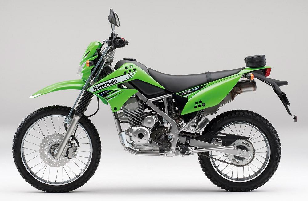 [KLX125]2012年モデルはカラーイメージを押し出したライムとブラックの2色展開