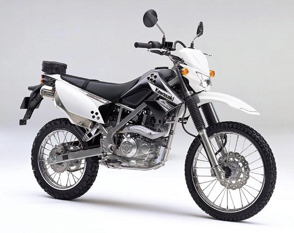 2011年モデル KLX125 ブライトホワイト