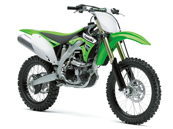 2011年モデル KX450F ライムグリーン