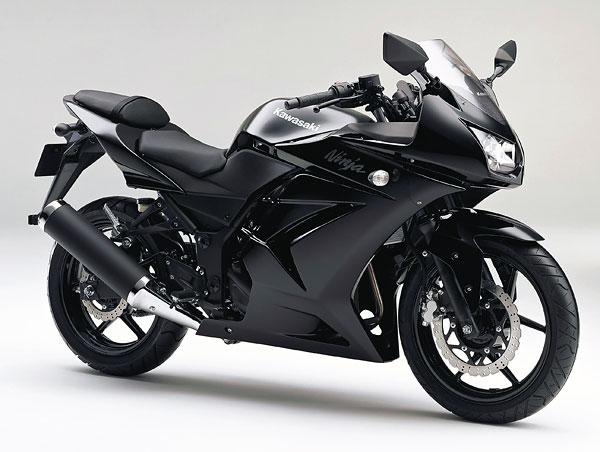 2011年モデル Ninja250R ブラック
