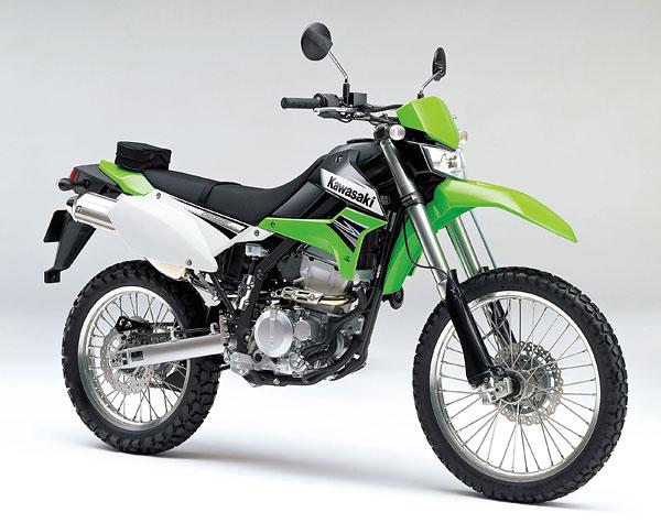 2011年モデル KLX250 ライムグリーン