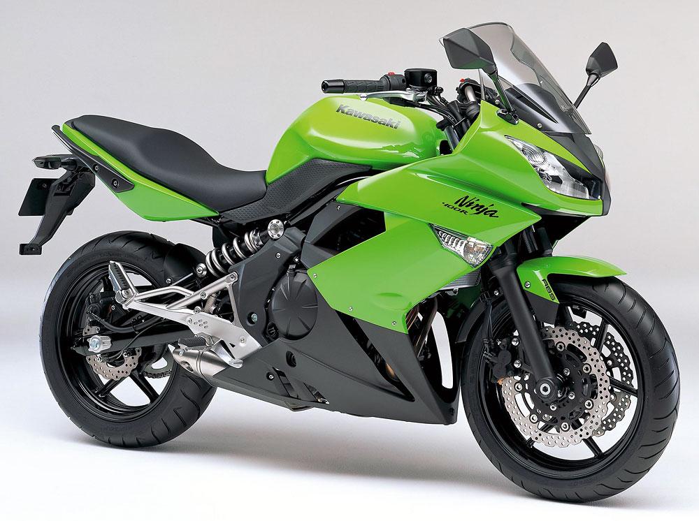 2011年モデル Ninja400R ABS ライムグリーン