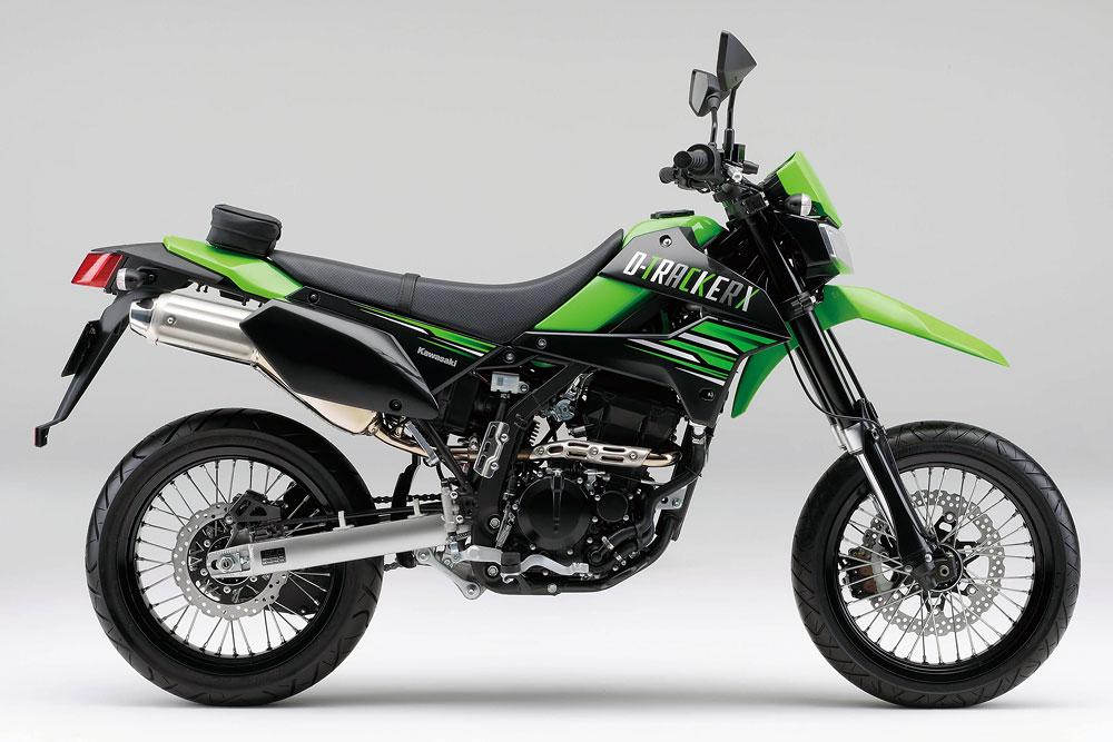 2011年モデル D-TRACKER X ライムグリーン