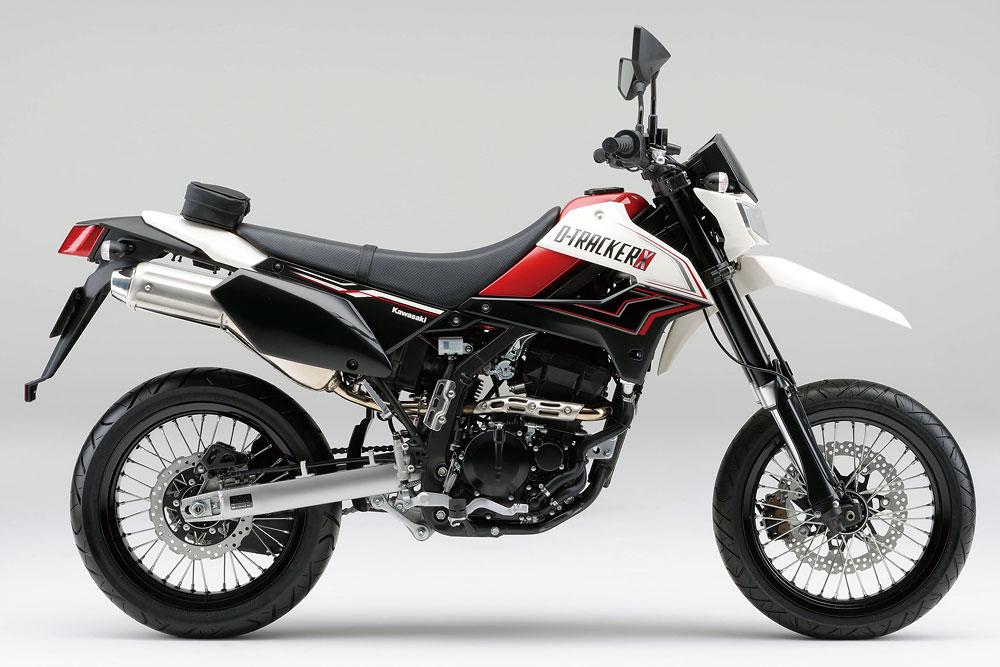 2011年モデル D-TRACKER X ブライトホワイト×キャンディーパーシモンレッド