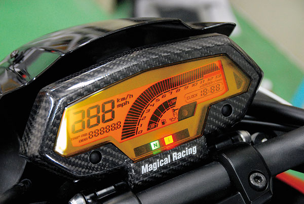 マジカルレーシング Z1000用 メーターカバー