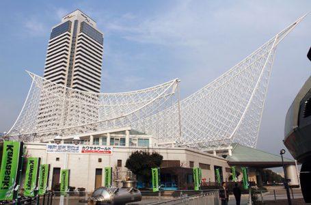 会場は神戸海洋博物館にあるカワサキワールド。アクセスも良好で近くには旧居留地や中華街がある