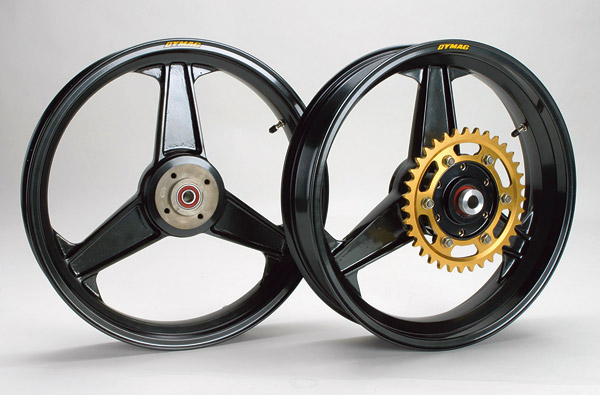 DYMAG Classic H section Magnesium Wheel ゼファー750/RS用