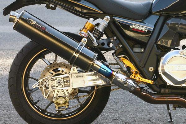 ノジマエンジニアリング ZRX1200DAEG用スリップオン