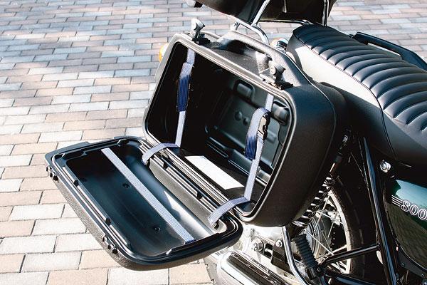 W800/650 ヘプコ&ベッカー製サイドケース