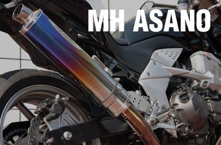 MHアサノ Z750用 スリップオンマフラー