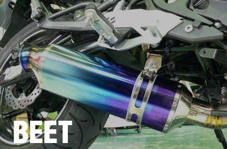 BEET 09~10 ER-6f ナサート・エヴォ マフラー