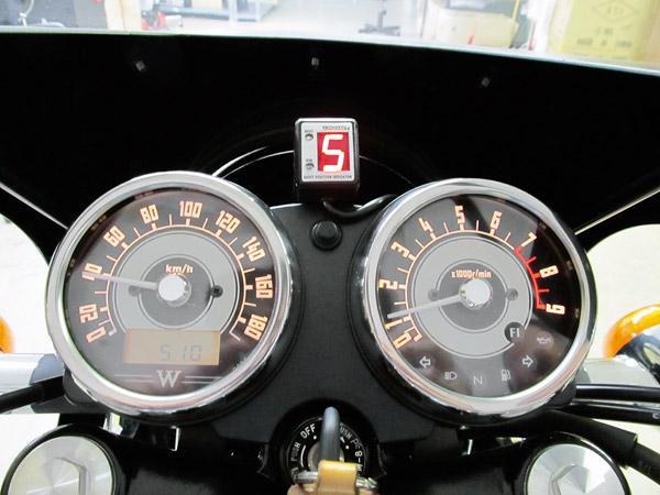 プロテック シフトポジションインジケーター SPI-110 W800装着
