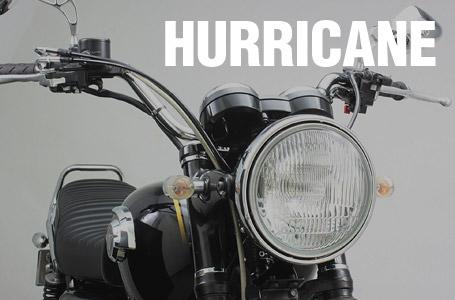ハリケーン W800用ハンドルおよびウインカーキット