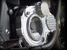 コワース ZRX1200DAEG用ビレットクラッチカバー