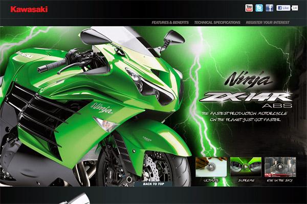 Kawasaki Motors Australia - 2012 Kawasaki Ninja ZX-14R