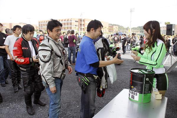 写真は「カワサキコーヒーブレイクミーティング in 銚子」の模様