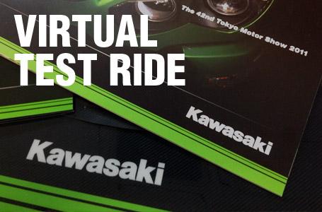 カワサキがモーターショーに合わせ、ZX-14RやVersys1000など主力4機種の車載動画を公開