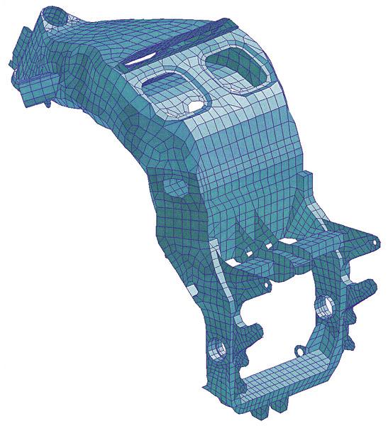 ZX-12R フレーム コンピューターグラフィック