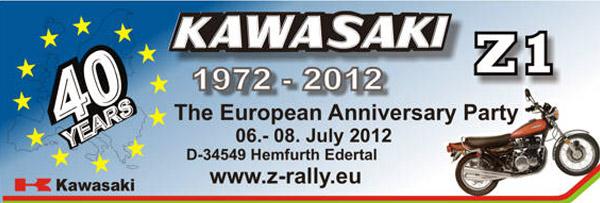 1972-2012 KAWASAI Z1 40 YEARS
