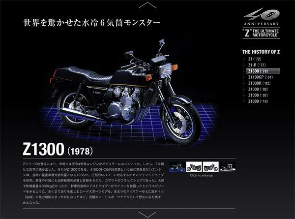 """""""Z"""" 40th Anniversary : Z1300"""