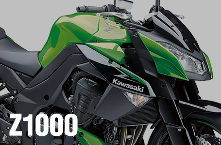 [Z1000]2013年モデルは、ツヤ消しブラック&グリーンの2色を採用