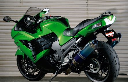 CUSTOM PARTS for Ninja ZX-14R by BEET