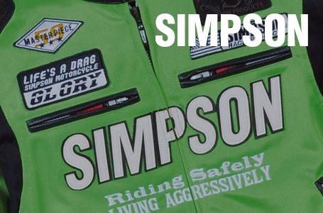 SIMPSON SJ-2115 メッシュジャケット