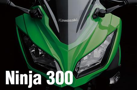 [Ninja 300/ABS/Special Edition]海外ではニンジャ250に続きニンジャ300が発表!