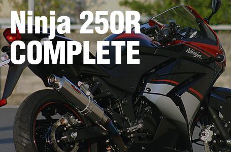 Kawasaki NET彩 オリジナルコンプリートNinja 250R発売中