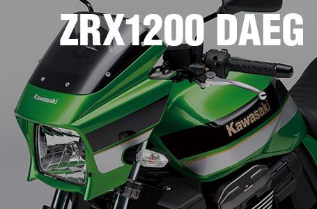 [ZRX1200 DAEG]Z生誕40周年を記念した特別仕様車が登場
