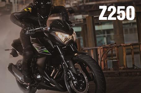[Z250]クォーターZ降臨。クラスの常識を打ち破る斬新ストリートファイタースタイル