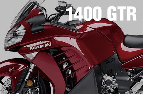 [1400GTR/CONCOURS 14]大型スポーツツアラー・2014年モデルのカラーリングが発表