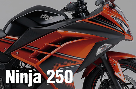 [Ninja 250/Special Edition/ABS Special Edition]2014年モデル・国内仕様のカラーリングが発表!