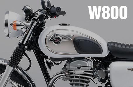 [W800/Special Edition]ニューカラーを採用した2014年モデルが登場