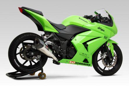 ヨシムラ R-11 レーシングサイクロン 1エンド Ninja250R(08年〜12年)