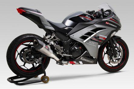 ヨシムラ R-11 レーシングサイクロン 1エンド Ninja250/ABS(13年〜)